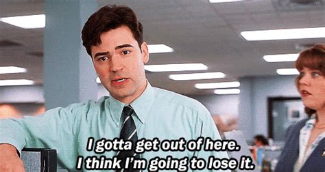 Office Space Jump To Conclusions Gif Office Space Gifs Find On Giphy