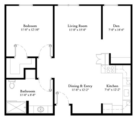 one bedroom with den 1 bedroom with den 1 bath suffieldcommons com