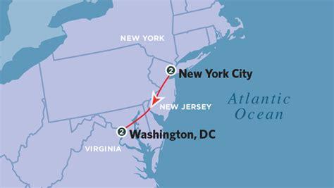 washington dc map new york new york washington map