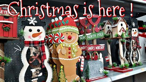 christmas walmart decor shop with me walmart decorations 2017