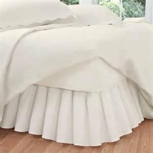 levinsohn ruffled poplin bedding bed skirt walmart