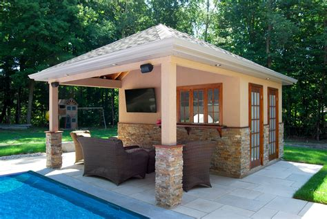 pool house cabana custom pool cabanas pool house cedar wood structures