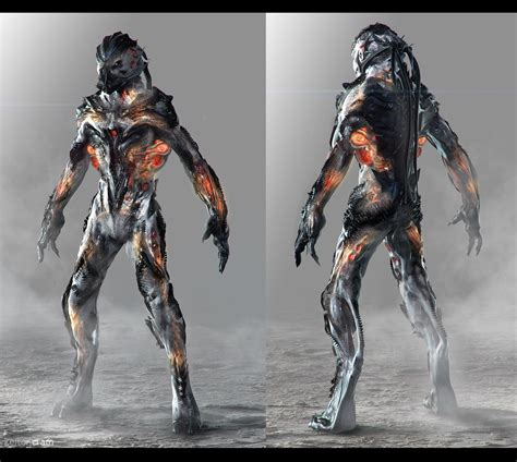 artstation star citizen vanduul creature design v4