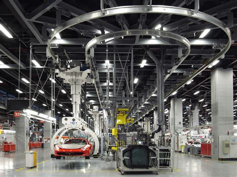 design manufacturing line ferrari factory tour assembly line