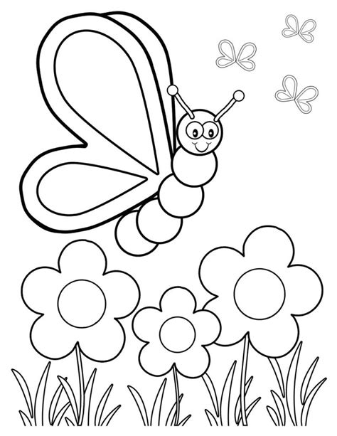 Flowers And Butterflies Coloring Pages Depetta Coloring Coloring Pages Of Roses And Butterflies