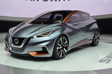 nissan concept nissan sway concept previews hatchbacks to come nissan