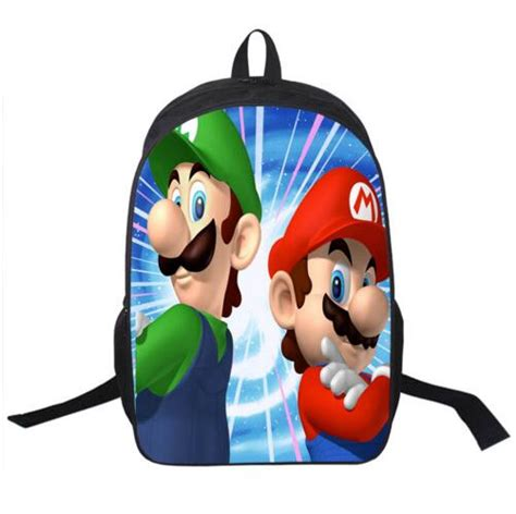 Supersale Kidsbag 2016 sale children s 3d backpack cool mario school backpack for mario
