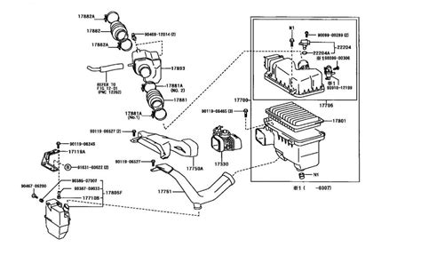 diagram of air induction system air intake diagram