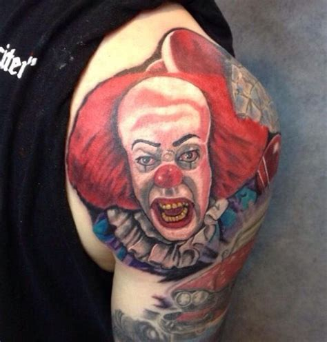 pennywise tattoo horror clown pennywise tattoos tattoos