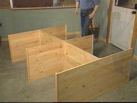How To Make A Bed Frame With Drawers Pdf Diy How To Build A Platform Bed With Drawers Ho Shelf Track Plans Woodguides