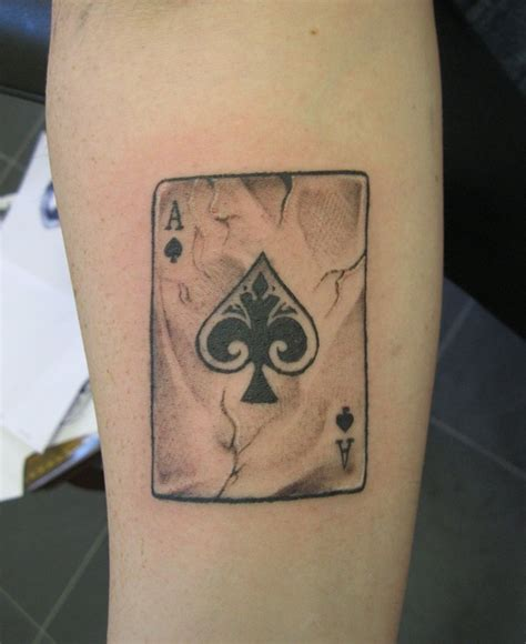 ace of spade tattoo ace of spades designs and meanings