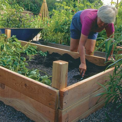 Easy Raised Garden Bed Ideas 10 Inspiring Diy Raised Garden Beds Ideas Plans And