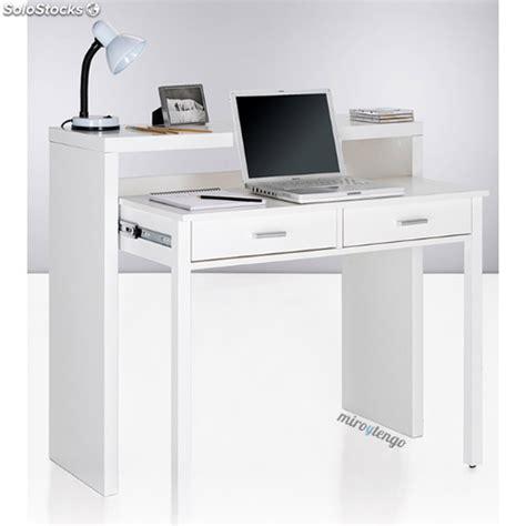 ordenador escritorio mesa de ordenador escritorio extensible color blanco