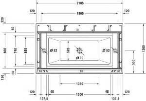vasca da bagno misure misure vasche da bagno 187 mobili per la casa pagina