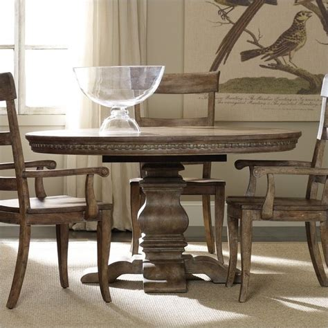 pedestal dining room table with leaf furniture sorella pedestal dining table with