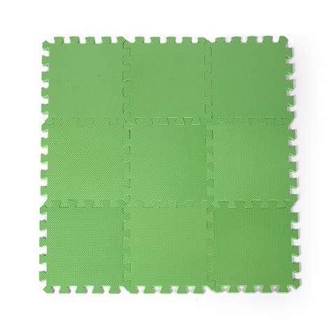 9 pieces anti fatigue puzzle floor foam mats pads light