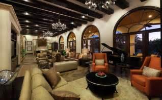 Hacienda Home Interiors Showcase Home In Austin Spanish Oaks Hacienda