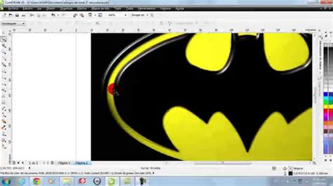 tutorial on corel draw x5 pdf tutorial logo batman en coreldraw x5 youtube