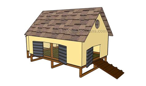 simple chicken house plans easy chicken coop plans free outdoor plans diy shed wooden playhouse bbq