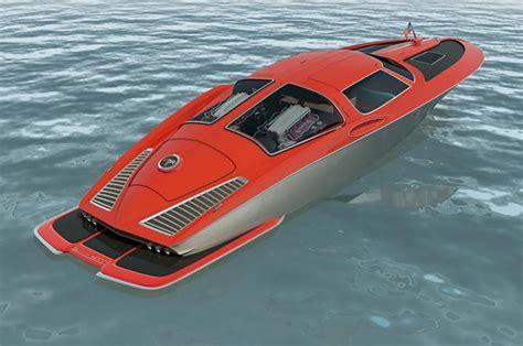 chevrolet corvette speed boat speed boat design inspired by 1963 split window corvette