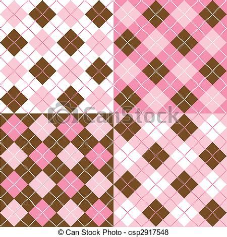 argyle pattern nail art stock illustration of argyle patterns a set of four