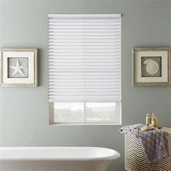 Ideas for bathroom window blinds and coverings