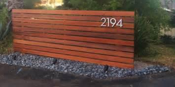 Horizontal Wood Fence Design Modern Horizontal Fence Rodolfo Lozano