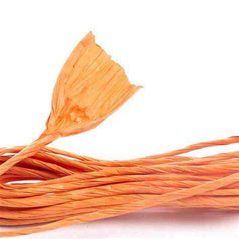 Paper Twist Crafts - pumpkin orange paper twist fall craft supplies fall