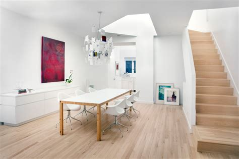 Dining Room Accents minimal luxury scandinavian dining room chicago by