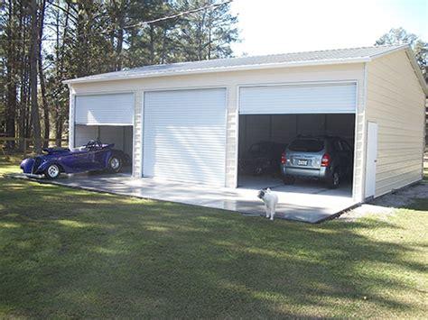 New Garages For Sale by Custom Metal Garages For Sale Installed Probuilt Steel