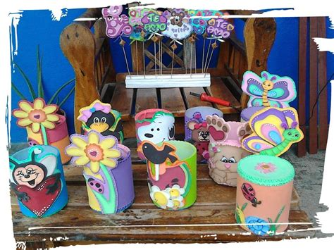 latas decoradas en foami latas decoradas en foami bs 1 00 en mercado libre