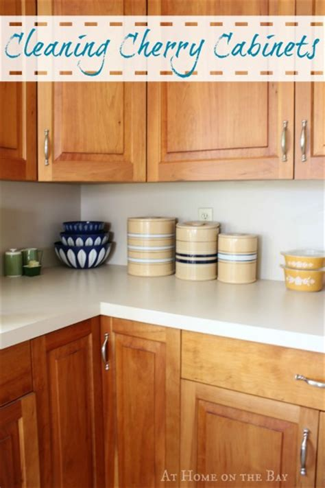 how to clean cherry kitchen cabinets cleaning our cherry cabinets