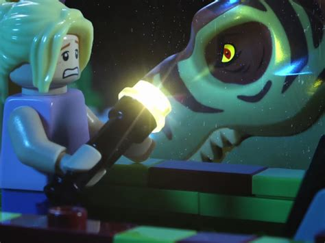 Blue Patio Furniture Lego Jurassic Park Stop Motion Uses 100 000 Worth Of Lego