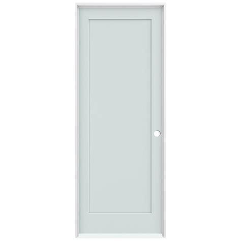 Jeld Wen 36 In X 96 In Light Gray Right Hand 1 Panel 36 X 96 Interior Door
