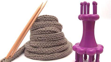 how to make i cord knitting spool knitting i cords on a loom studio knit