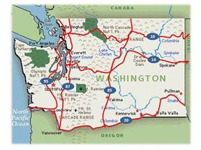 Wa State Road Map by Washington Hwy Map