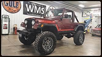 jeep scrambler lifted 81 jeep scrambler 4x4 lifted v8 auto 37 s car