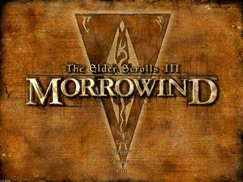 morrowind console adventures in gaming the elder scrolls iii