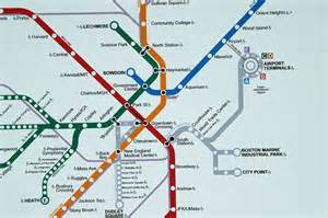 Map Of Boston T by Map Of The T Boston S Metro Photo Brian Mcmorrow