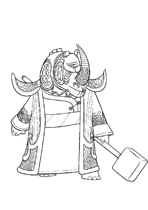 kung fu panda 3 coloring pages kai 15 best coloring pages kung fu panda images on pinterest