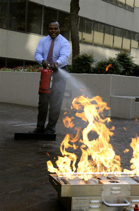 How To Put Out Fireplace by File Fema 39129 Fema Safety Officer Demonstrates