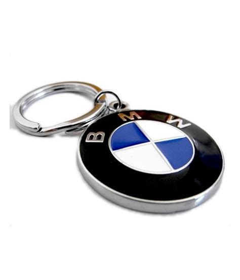 bmw key chain oyedeal bmw metal key chain silver available at