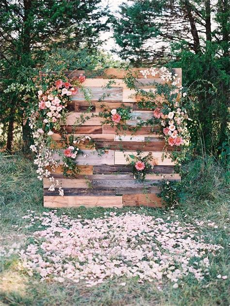 rustic garden wedding ideas top 25 best backdrop ideas ideas on diy photo