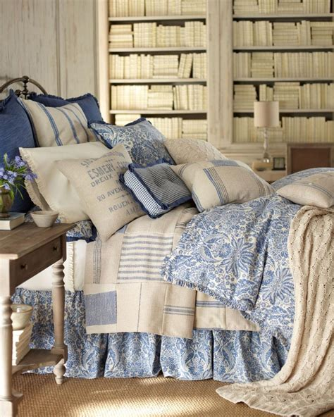 french laundry bedding y french laundry indigo sea collection linens bedding