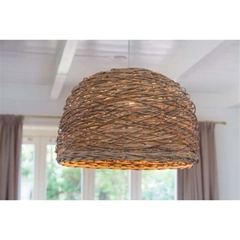 Woven Ceiling by Dome Shaped Wooden Basket Weave Ceiling Pendant Light