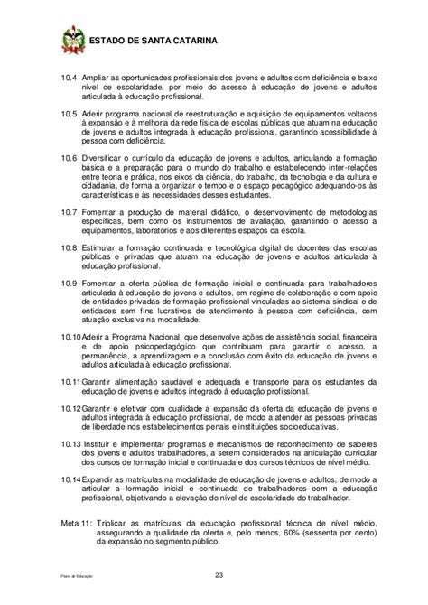 Plano Estadual de Educação para o decênio 2015-2024