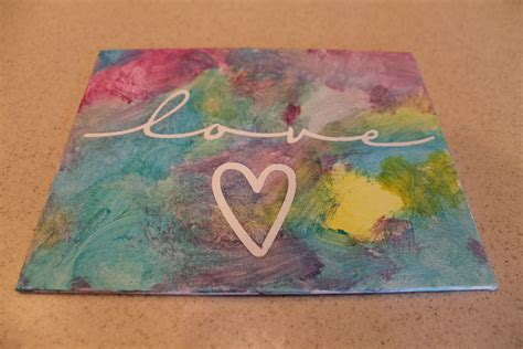 painted projects desperate craftwives child painted canvas