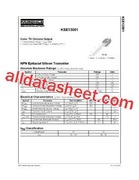 xw 6822 transistor datasheet transistor xw 13001 datasheet pdf 28 images kse13001 datasheet pdf fairchild semiconductor