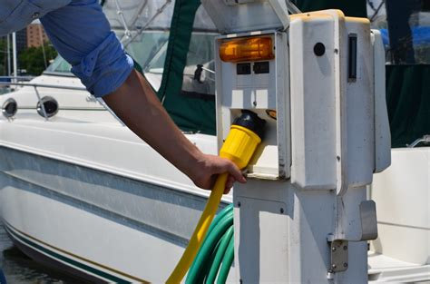 Marina Shore Power Pedestals how to your shore power cord in correctly conntek power solutions