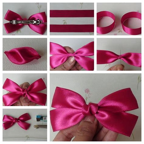 how to make the perfect christmas bow the diy easy and bow hairclip the diy